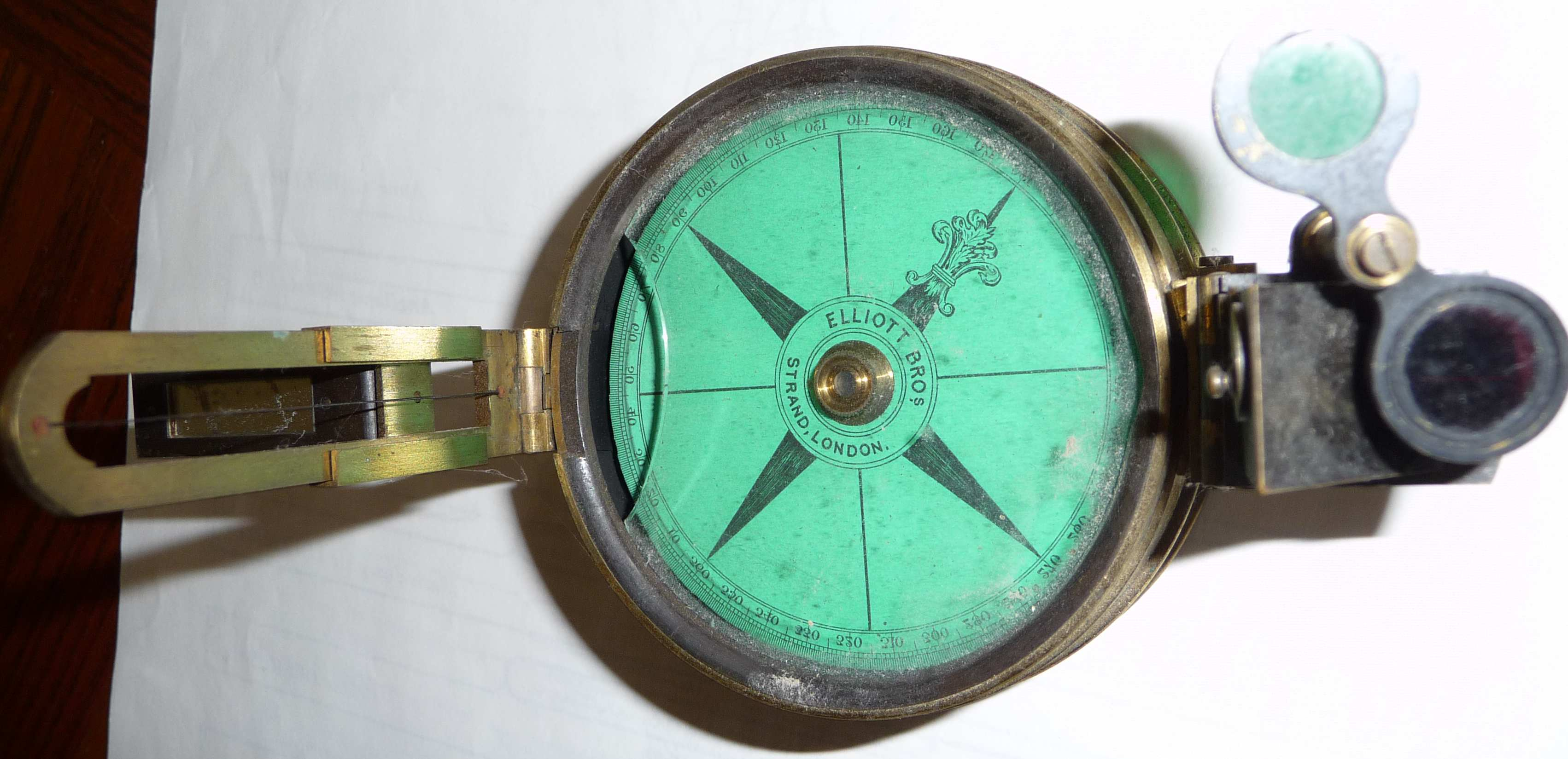 Aviation Compass used by Hubert Brooks