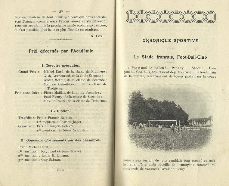 PHOTO La Villa Saint-Jean Extracted Pages 50 and 51 from Yearbook 1918 1919