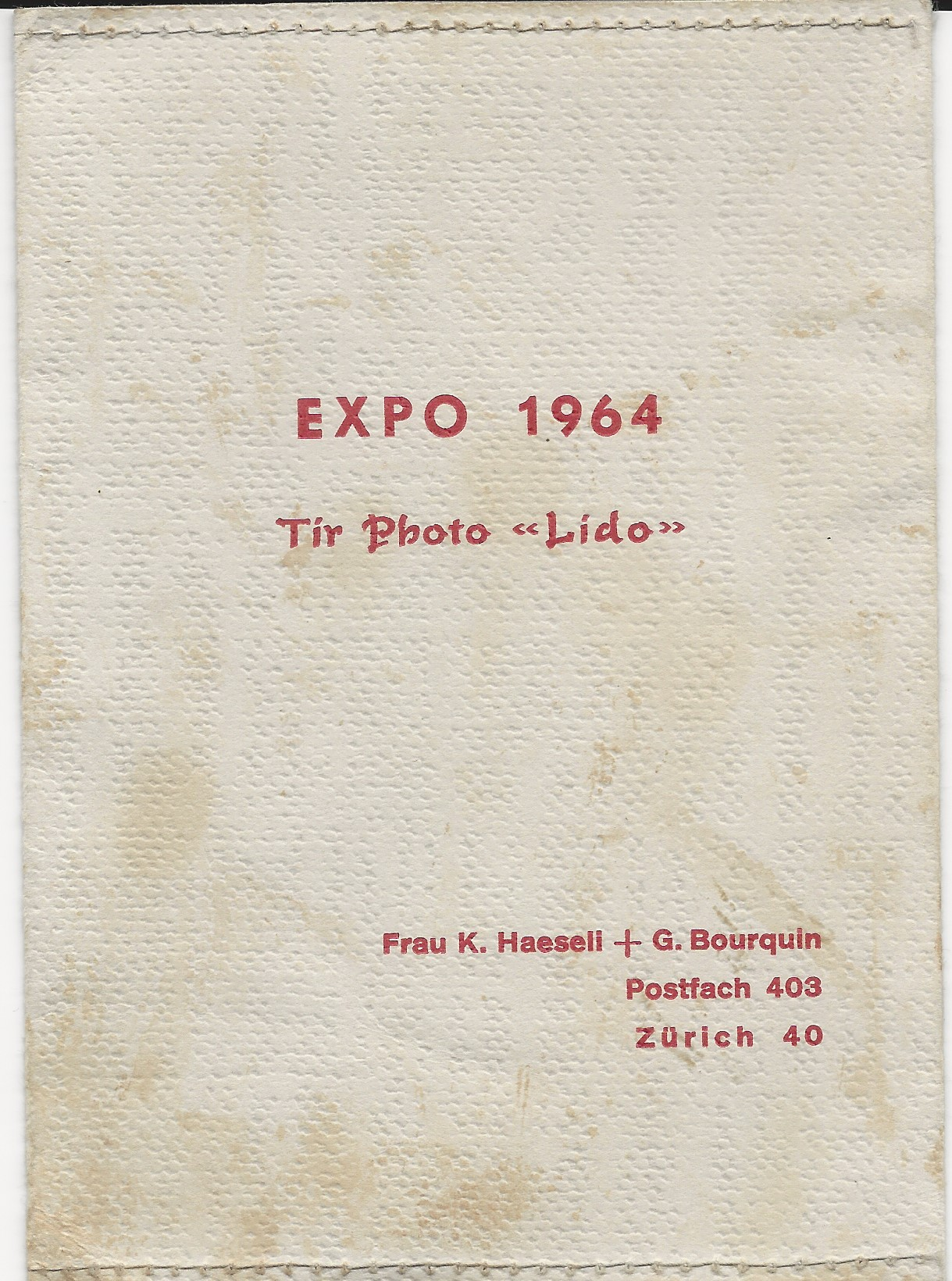 Villa Saint Jean International School  1964 Outing to EXPO Lausanne 1964 Photo Cover