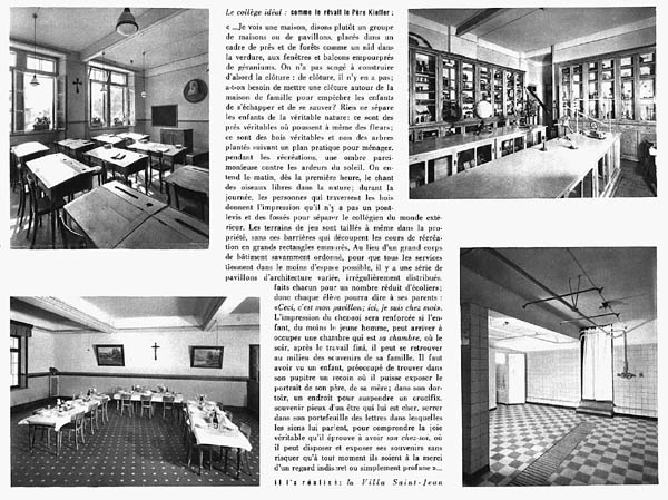 PHOTO Villa St Jean  Collège Français 1960 Advertising Brochure 3