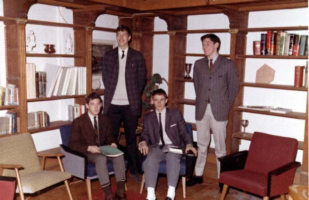 PHOTO Villa St Jean  Student Council Officers - Class of 1966