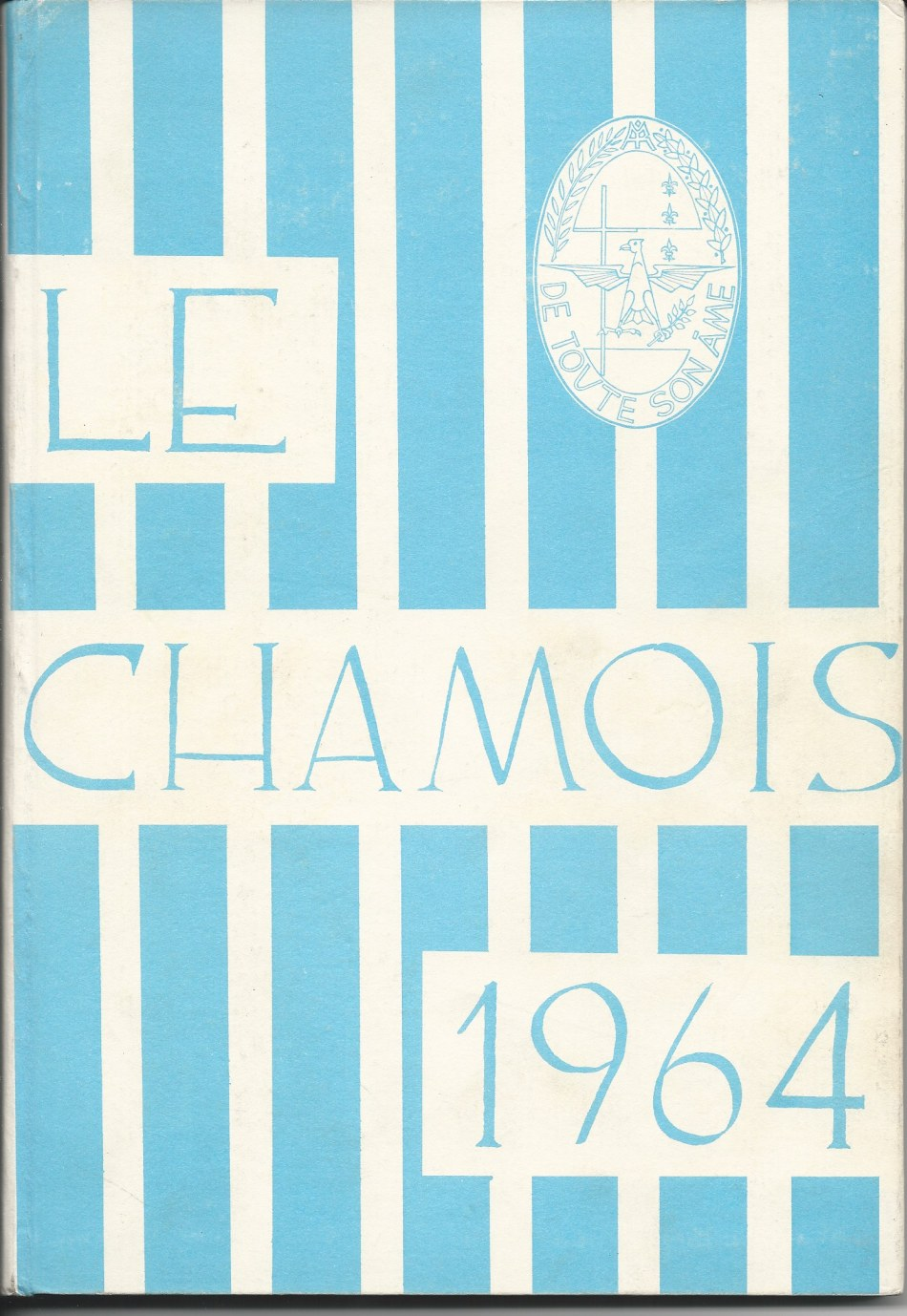 Front Cover of Villa Saint Jean International School  1964 Yearbook Le Chamois