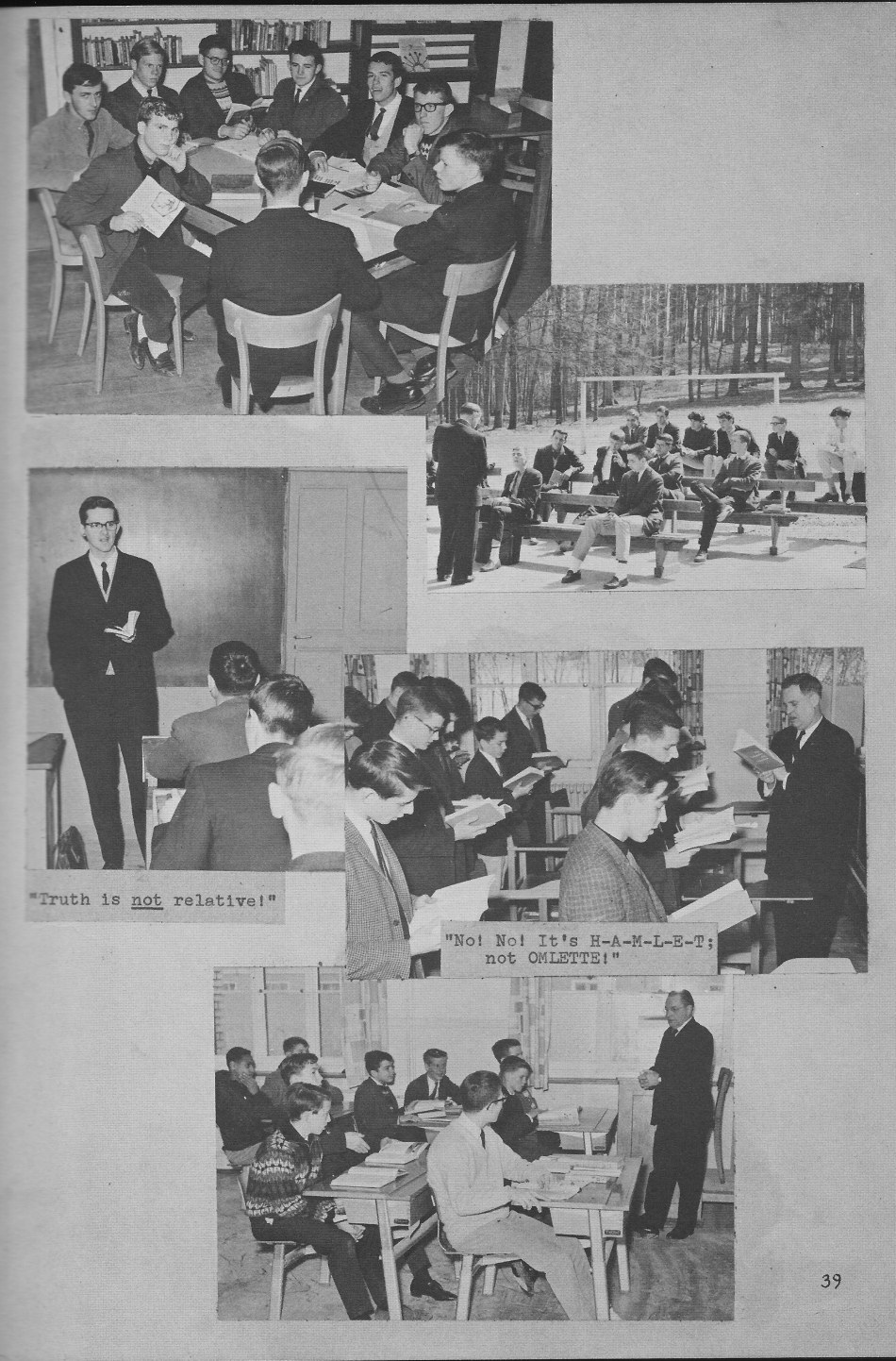 Classroom Photos  for Villa Saint Jean International School  1964 Yearbook Le Chamois