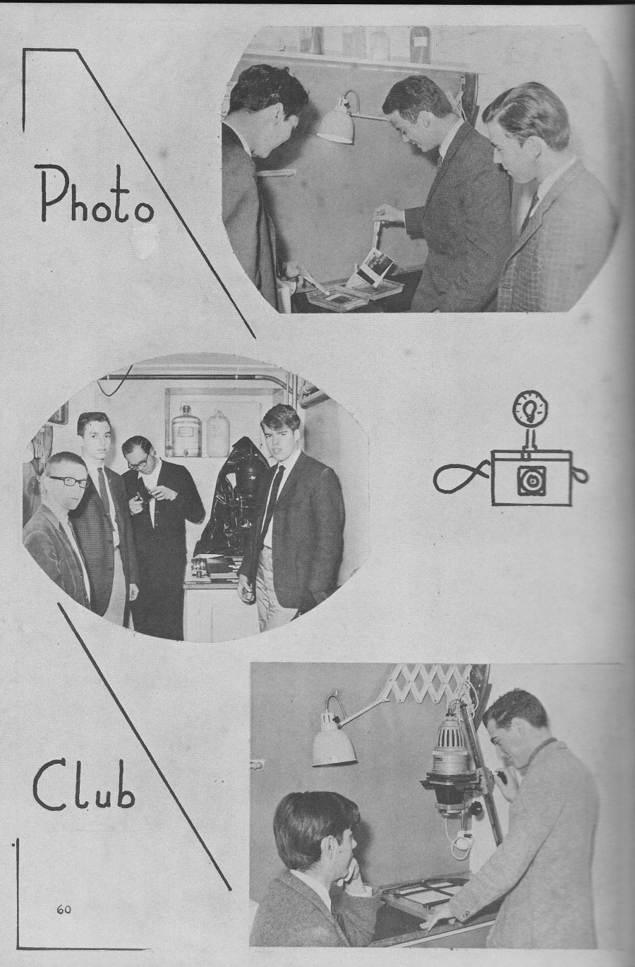 PHOTO CLUB for  Villa Saint Jean International School  1964 Yearbook Le Chamois