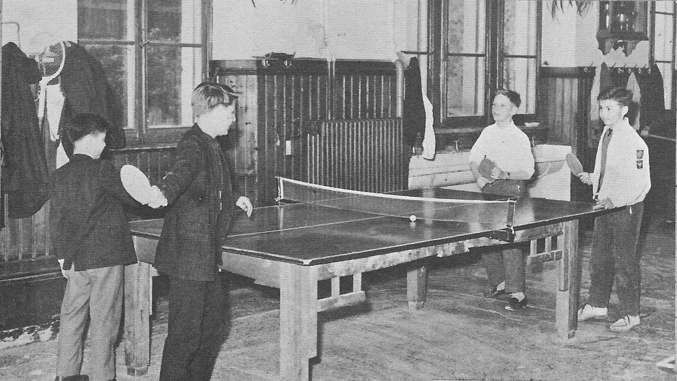 VILLA LIFE 4 Ping Pong for for Villa Saint Jean International School  1964 Yearbook Le Chamois