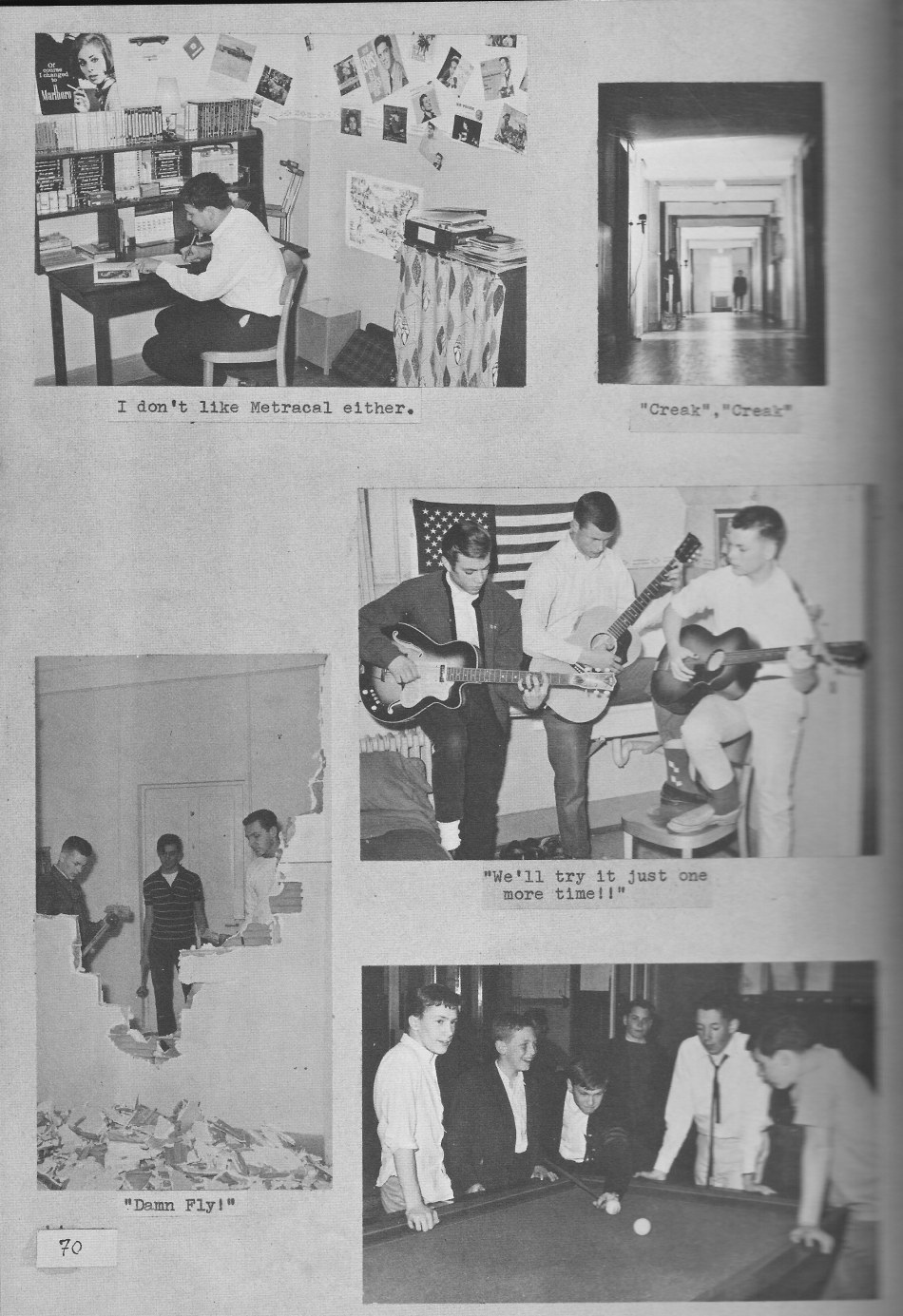 VILLA LIFE 10 Photos   for Villa Saint Jean International School  1964 Yearbook Le Chamois