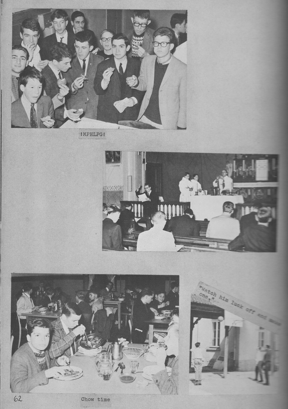 VILLA LIFE 2 for  Villa Saint Jean International School  1964 Yearbook Le Chamois
