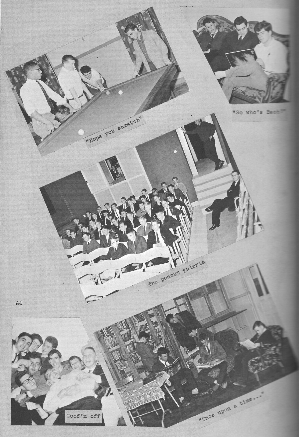 VILLA LIFE 6  for  Villa Saint Jean International School  1964 Yearbook Le Chamois