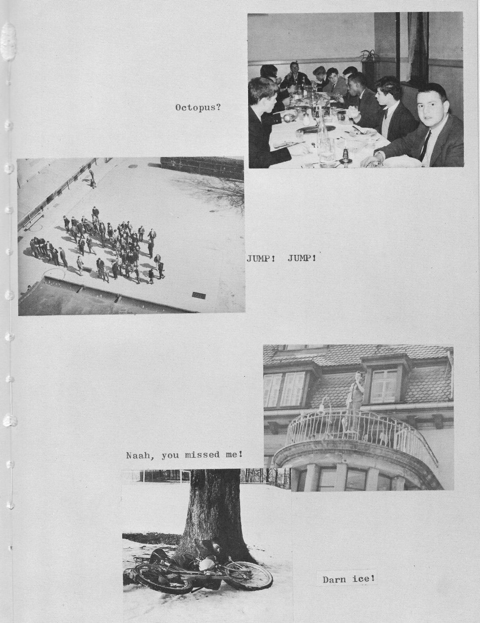 Villa Life Photos 9  for Villa Saint Jean International School  1965 Yearbook Le Chamois