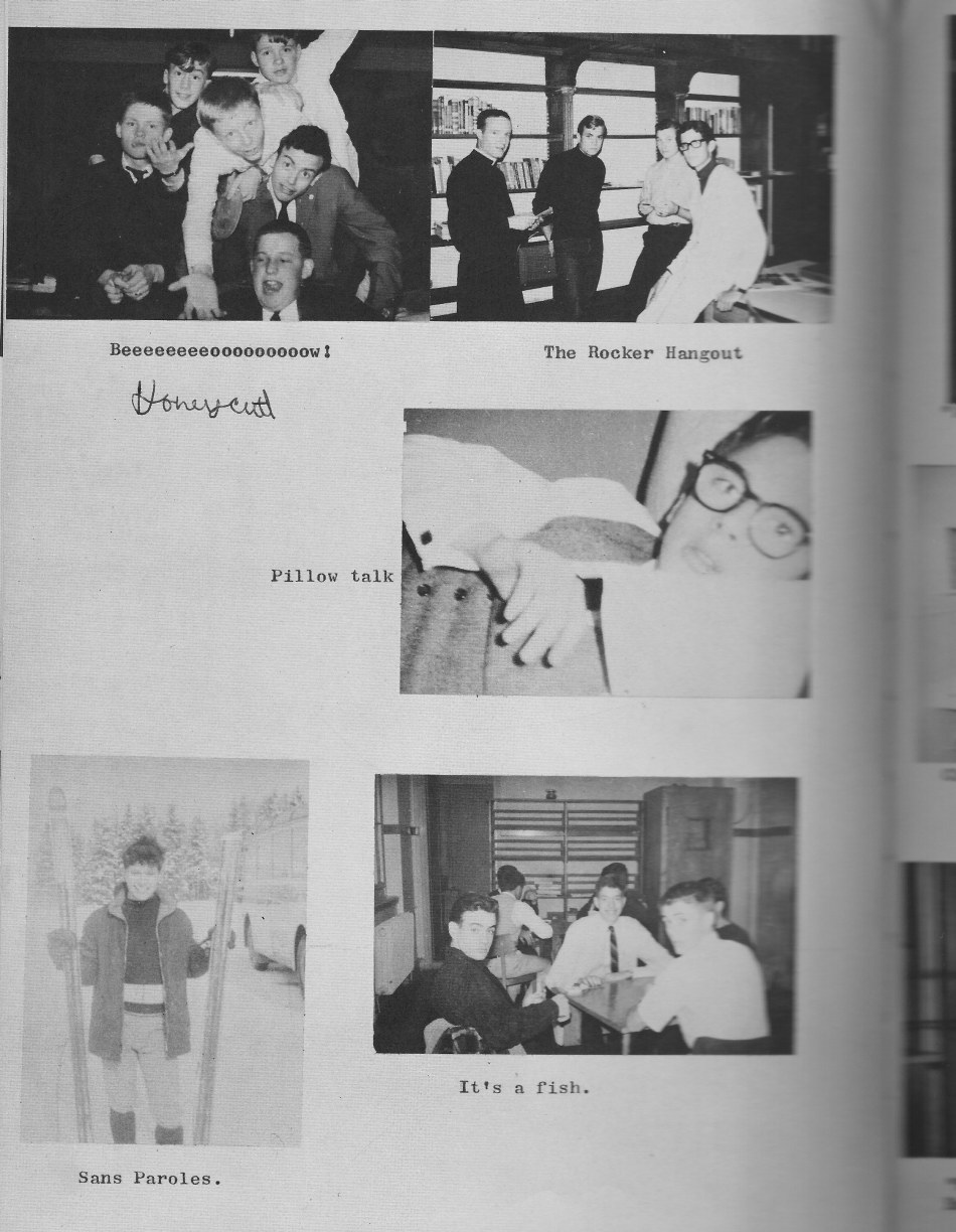 Villa Life Photos 10  for Villa Saint Jean International School  1965 Yearbook Le Chamois