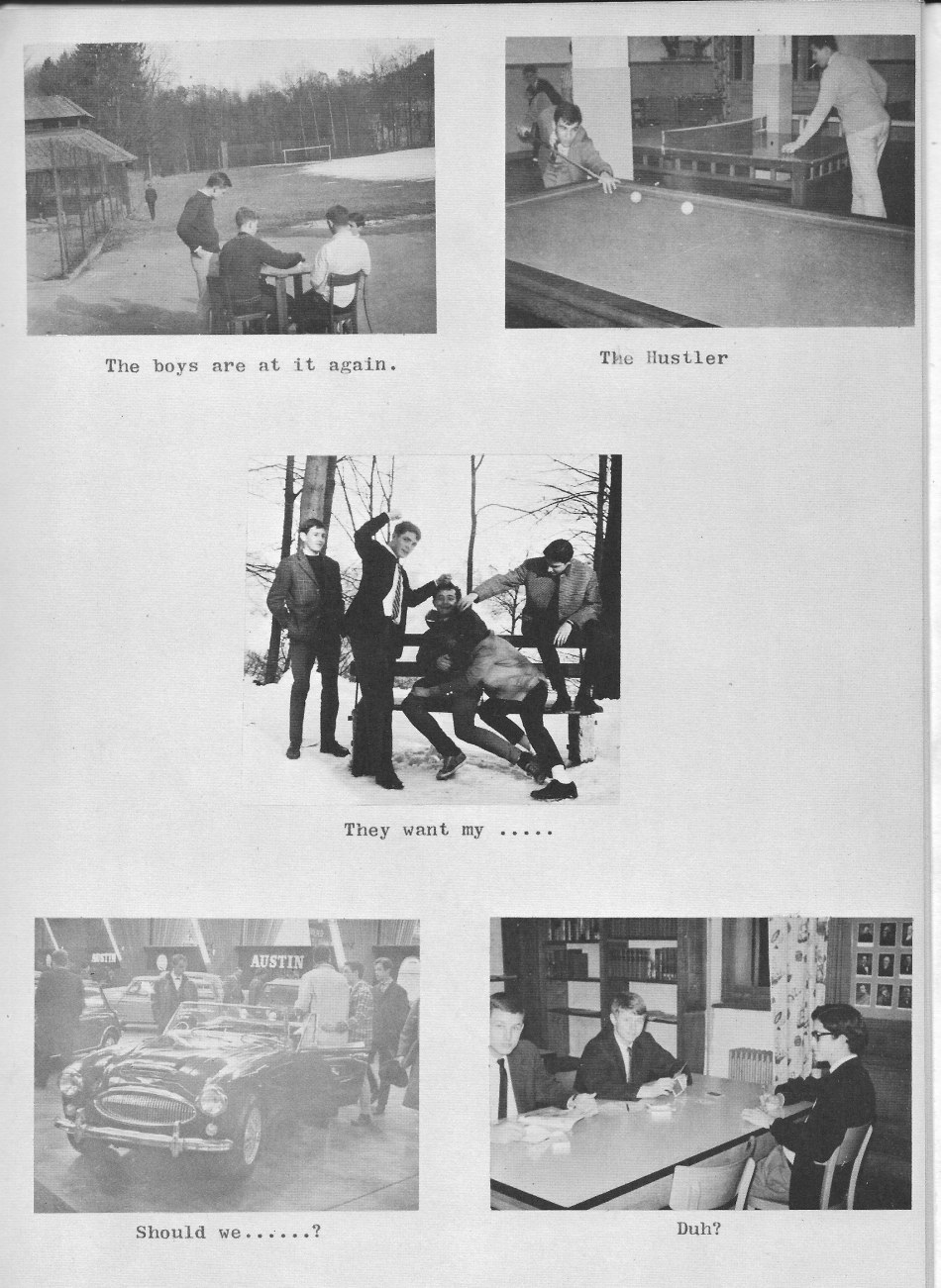 Villa Life Photos 1 for  Villa Saint Jean International School  1965 Yearbook Le Chamois