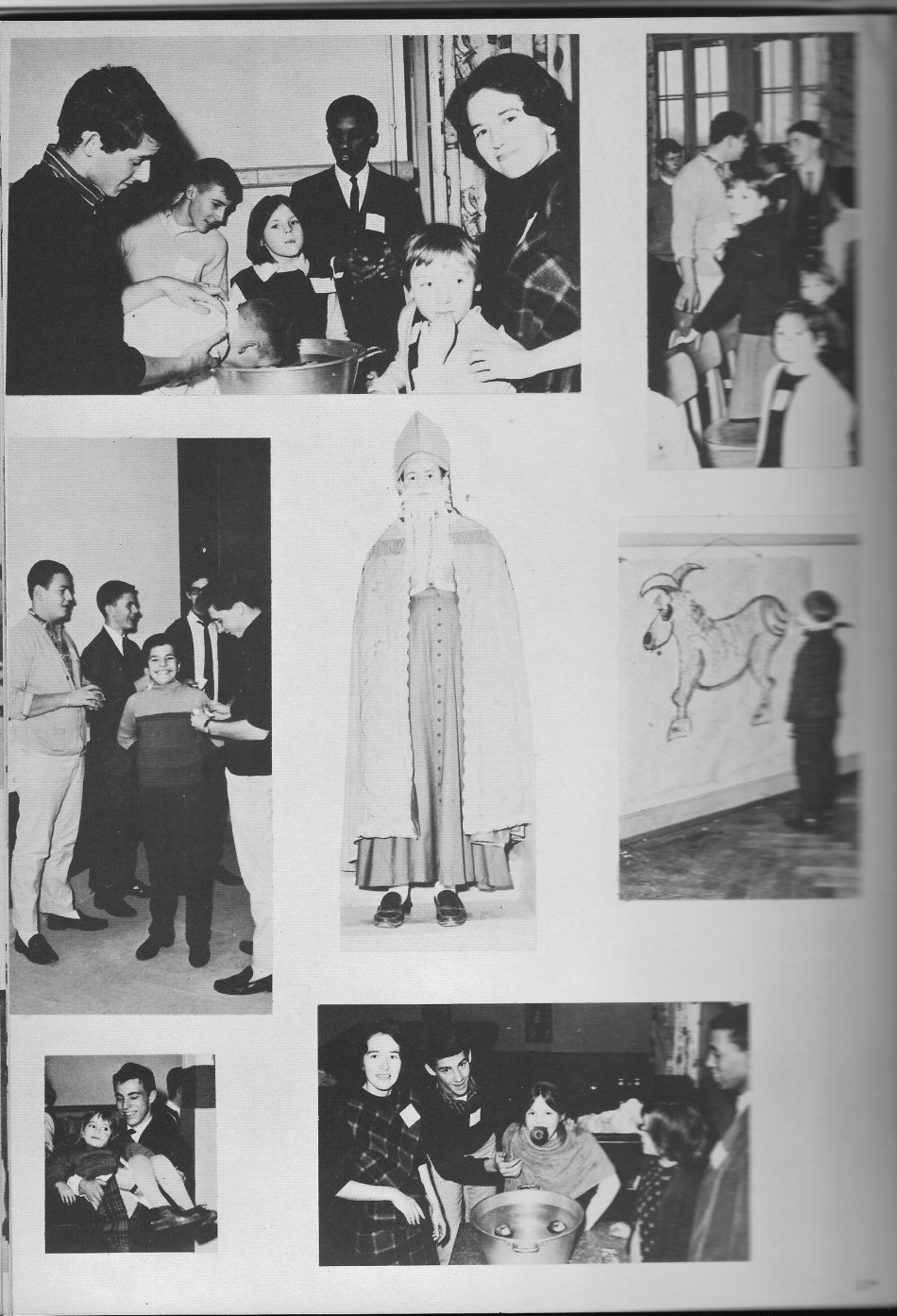 Villa Life Photos 2  for Villa Saint Jean International School  1965 Yearbook Le Chamois
