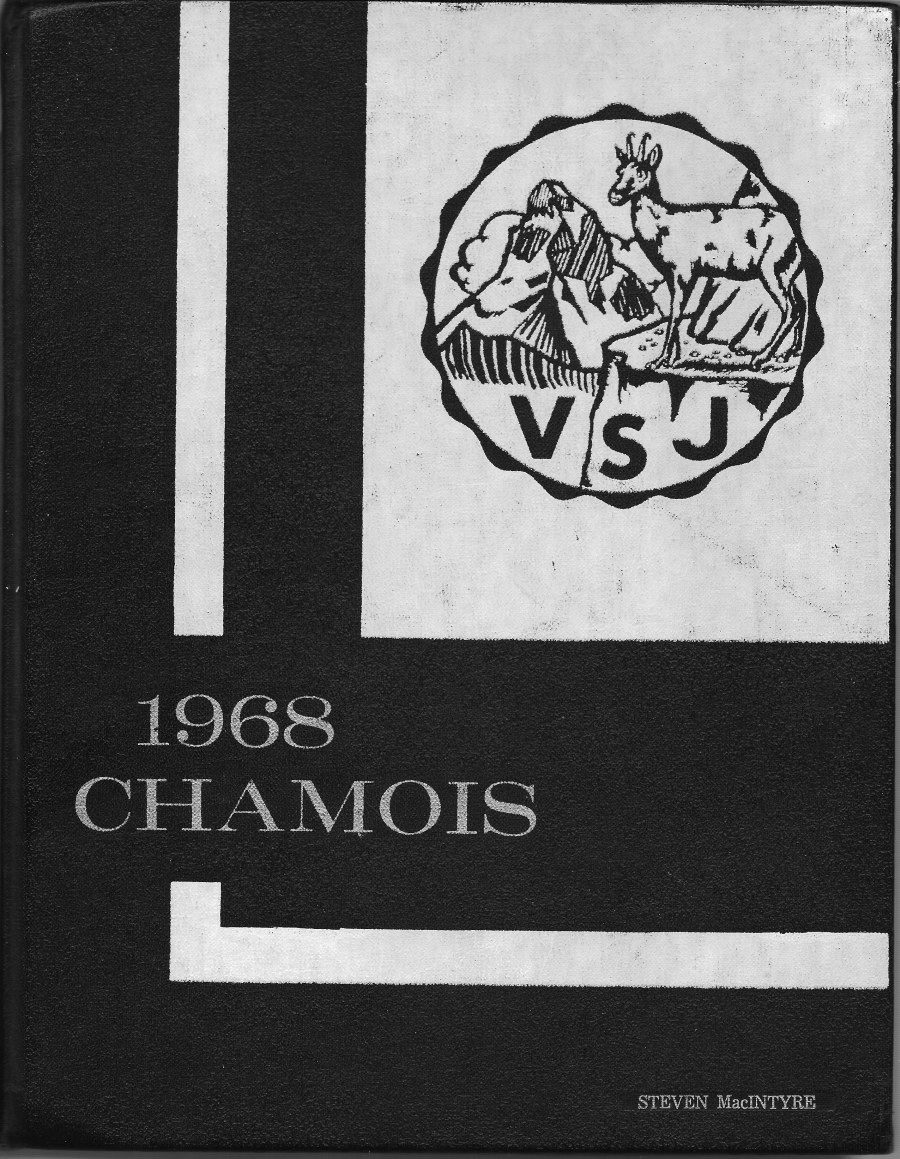Villa 1968 Yearbook Cover