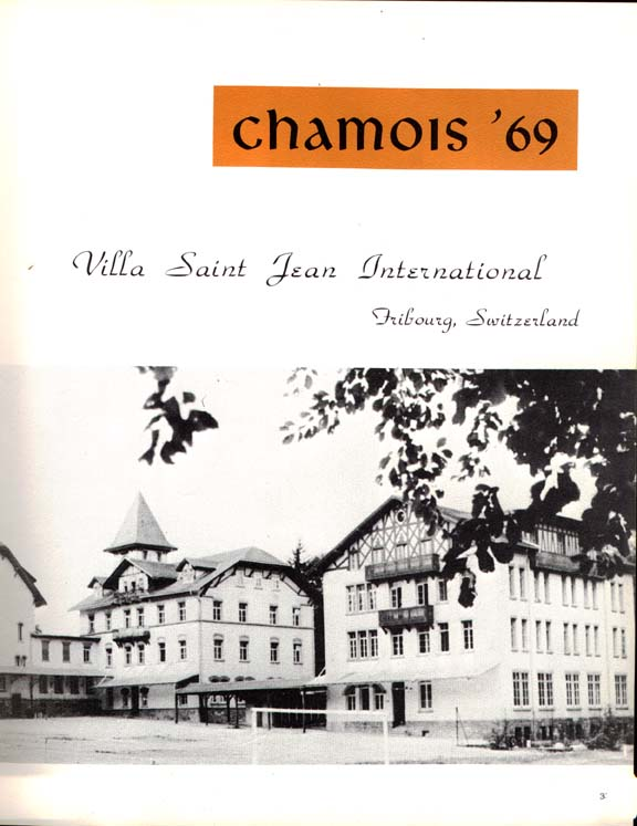 Villa 1969 Yearbook Cover
