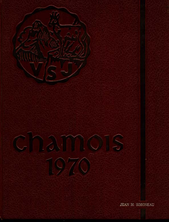 FRONT COVER  for  Villa Saint Jean International School  1970 Yearbook Le Chamois