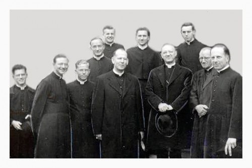 Marianists who attended Fribourg seminary in 1949