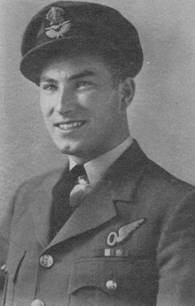 Early RCAF Photo of Hubert Brooks.