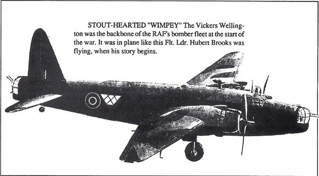 Graphic of Whimpey Vickers Wellington aircraft