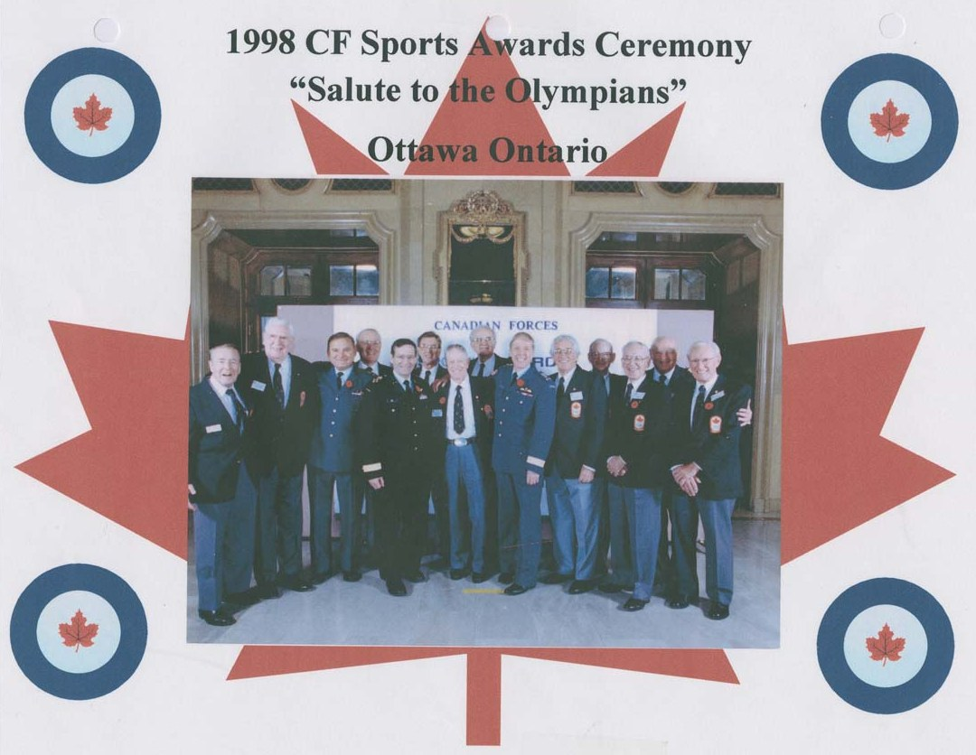 Photo: RCAF Flyers  Canadian Forces Sports Awards Ceremonies