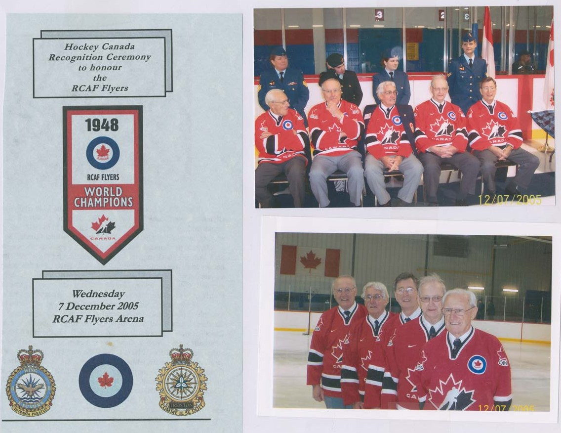 Photo: R.C.A.F. Station 8 WING Trenton Ontario Hockey Canada 3