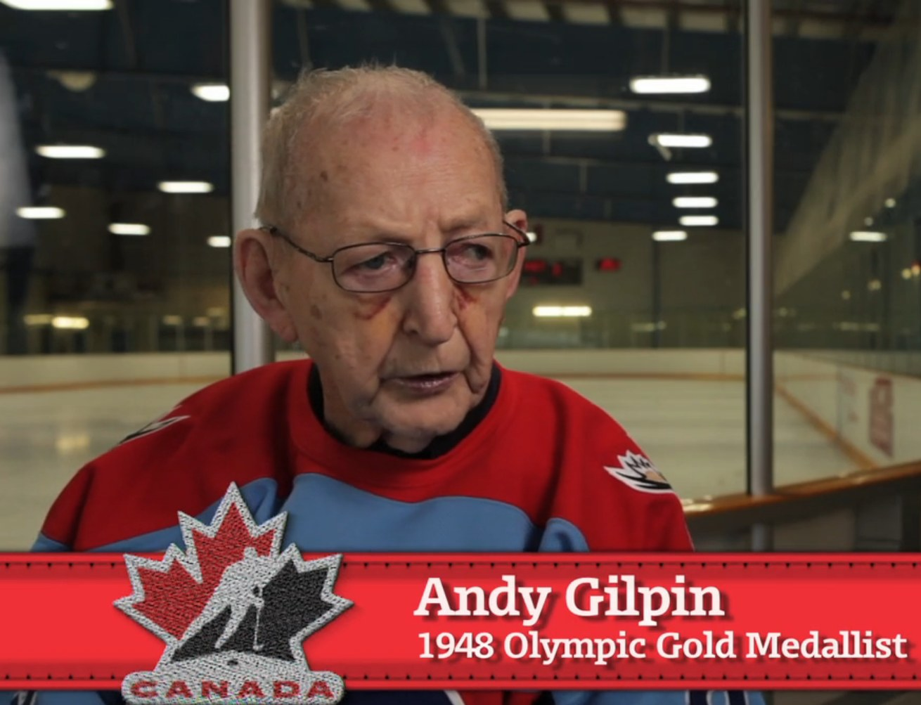 Photo: Andy Gilpin from Hockey Canada Interview