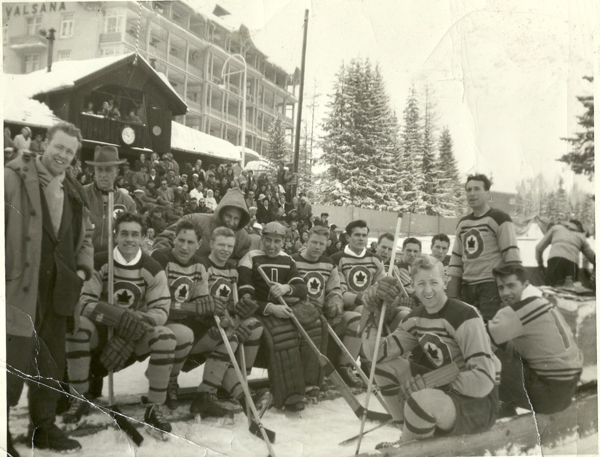 Photo: RCAF Flyers   at Arosa, Graubunden, Switzerland