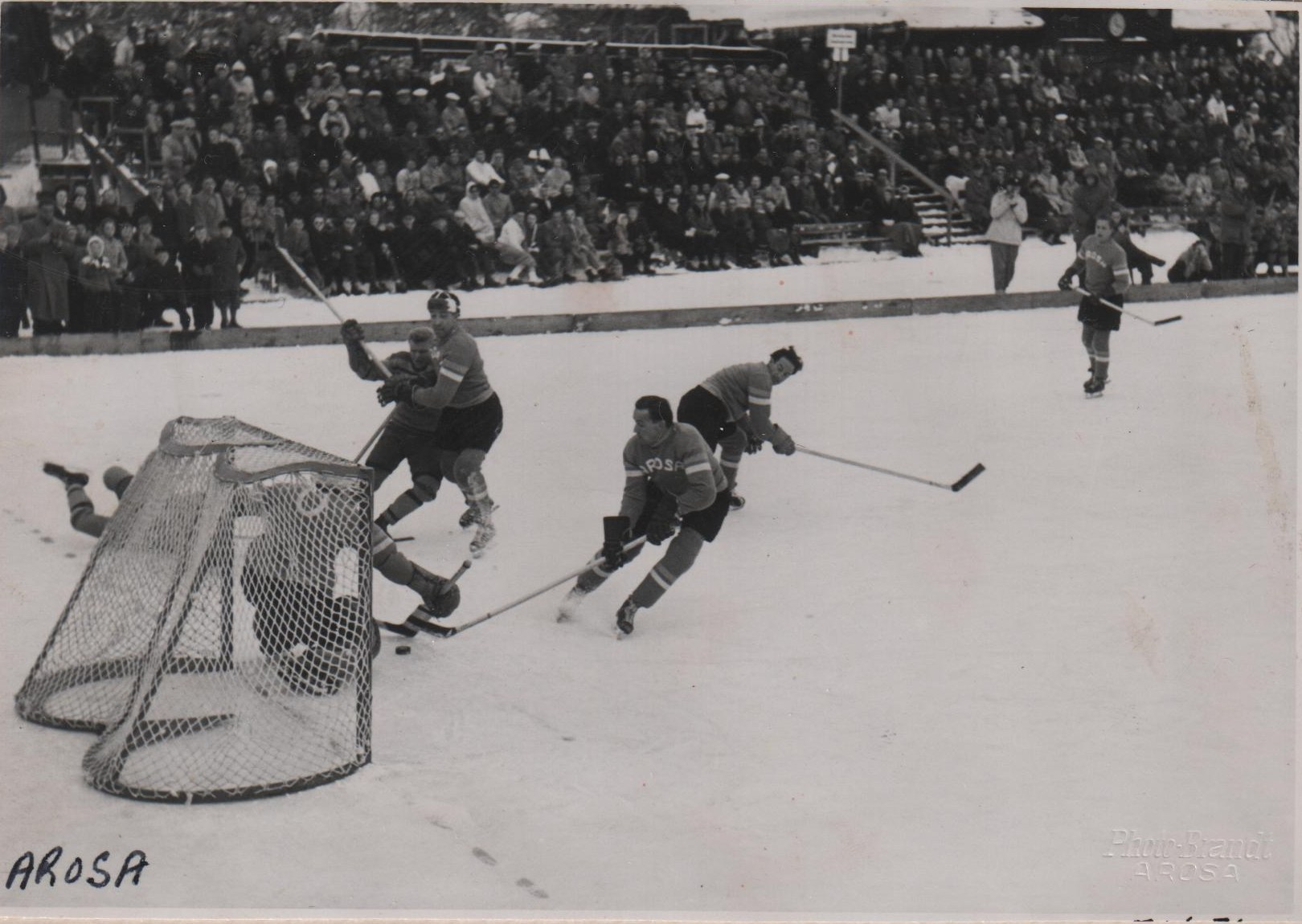 Photo 2: RCAF Flyers vs  EHC Arosa   at Arosa, Graubunden, Switzerland