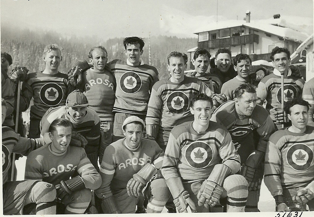 Photo 3: RCAF Flyers vs  EHC Arosa   at Arosa, Graubunden, Switzerland
