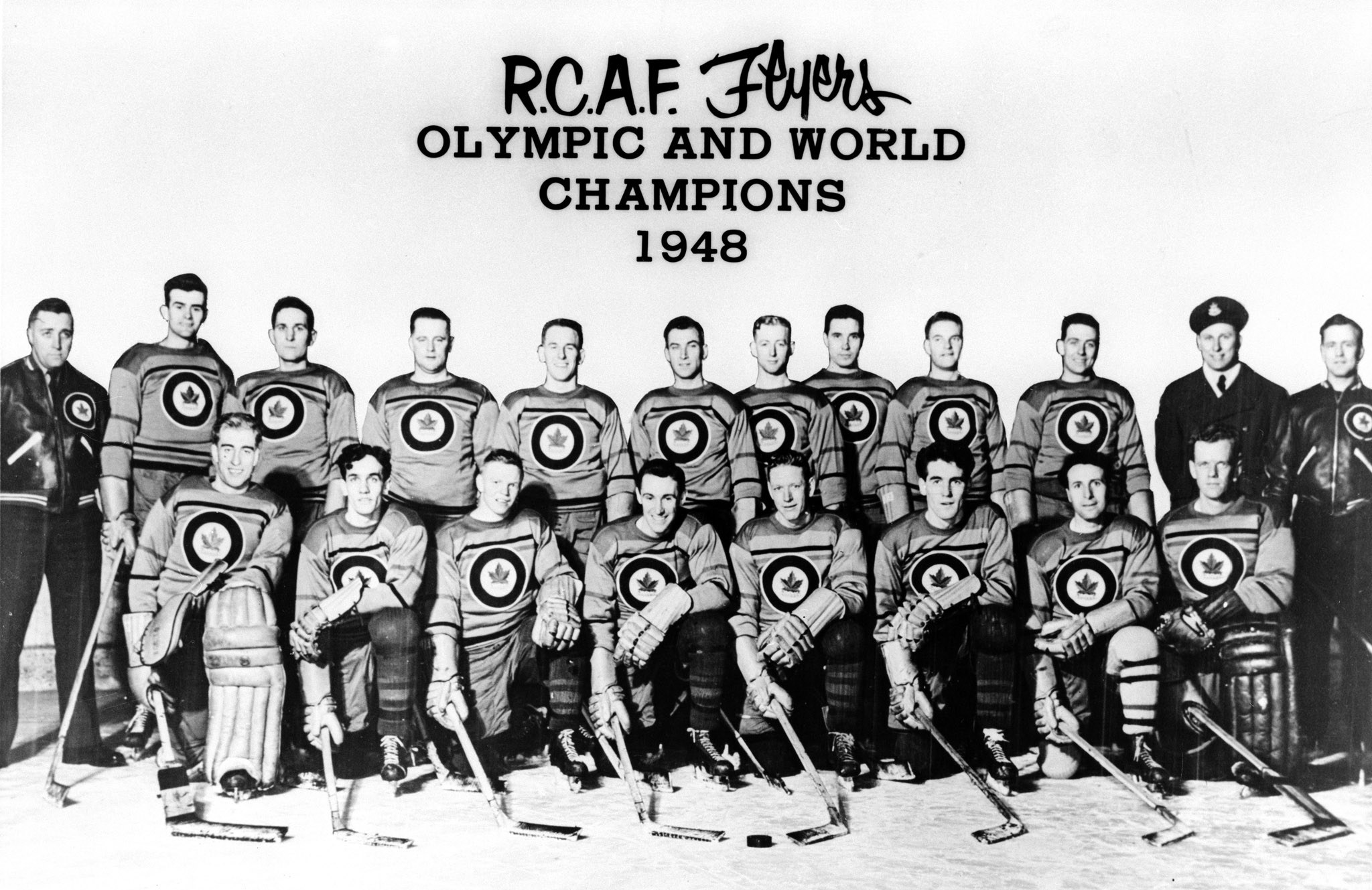 Photo: RCAF Flyer 1948 Olympic and World Champions PHOTO