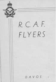 Image: Davos Switzerland AFHQ Officer Mess Menu honoring R.C.A.F.  Flyers 1