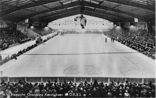 Photo: The Hague (Holland) Hockey Rink