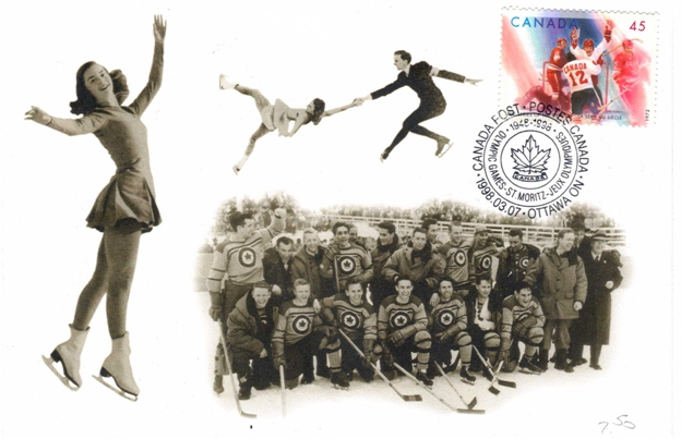 Photo: CANADA POST Letter concerning commemorative envelope honoring the R.C.A.F. Flyers and other Canadian Medal Winners