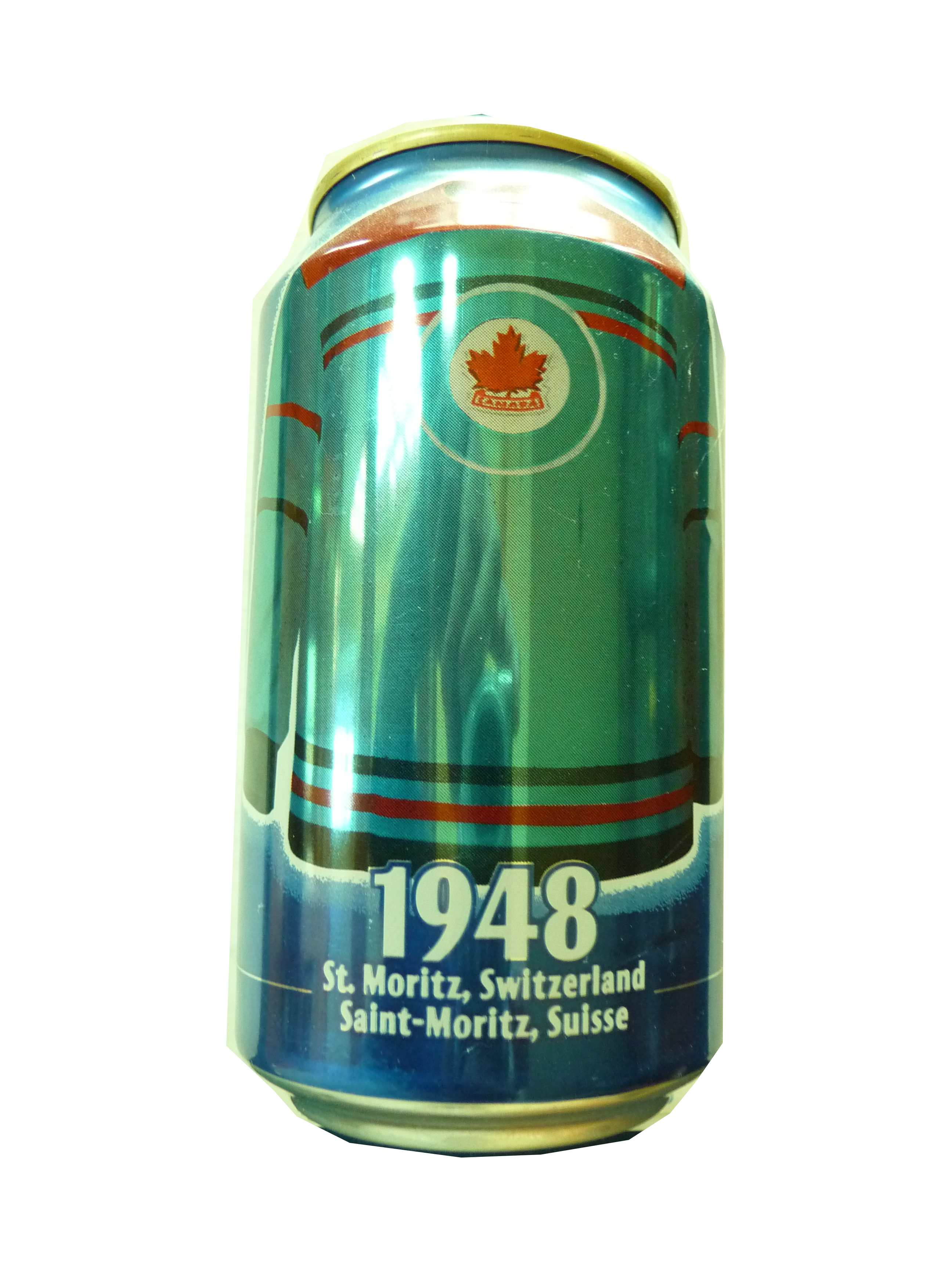 Pepsi Soda Can commemerating RCAF Flyers