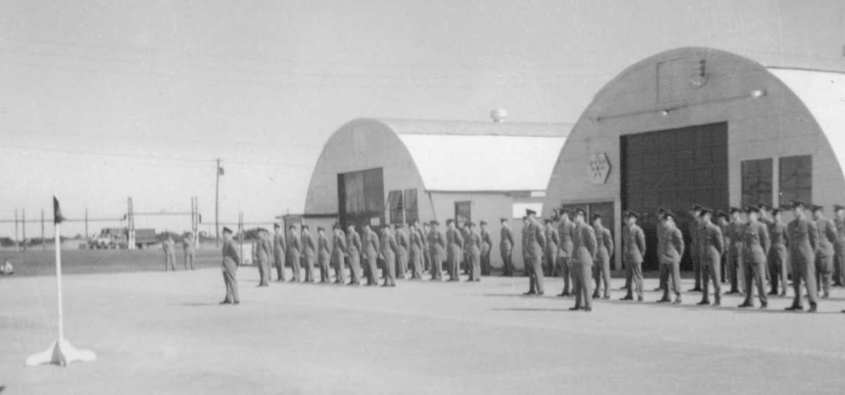 Photo: RCAF Moisie Airmen Stand Ready for Inspection