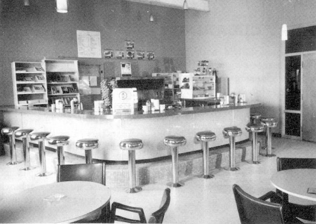 Photo: RCAF Moisie Snack Bar in Recreation Centre