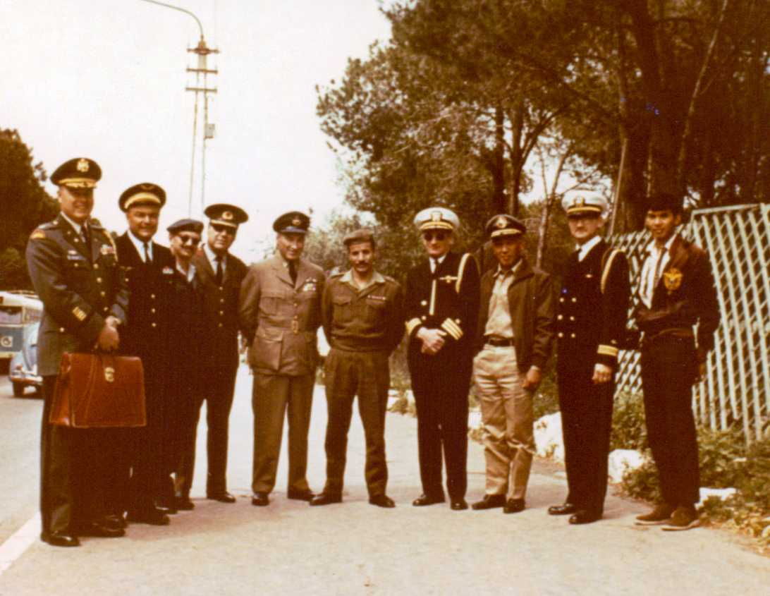 Photo: Hubert Brooks visit to Israeli following 6 Day War 1