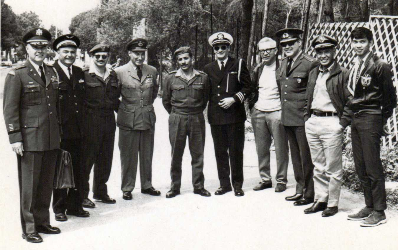 Photo: Hubert Brooks visit to Israeli following 6 Day War 3