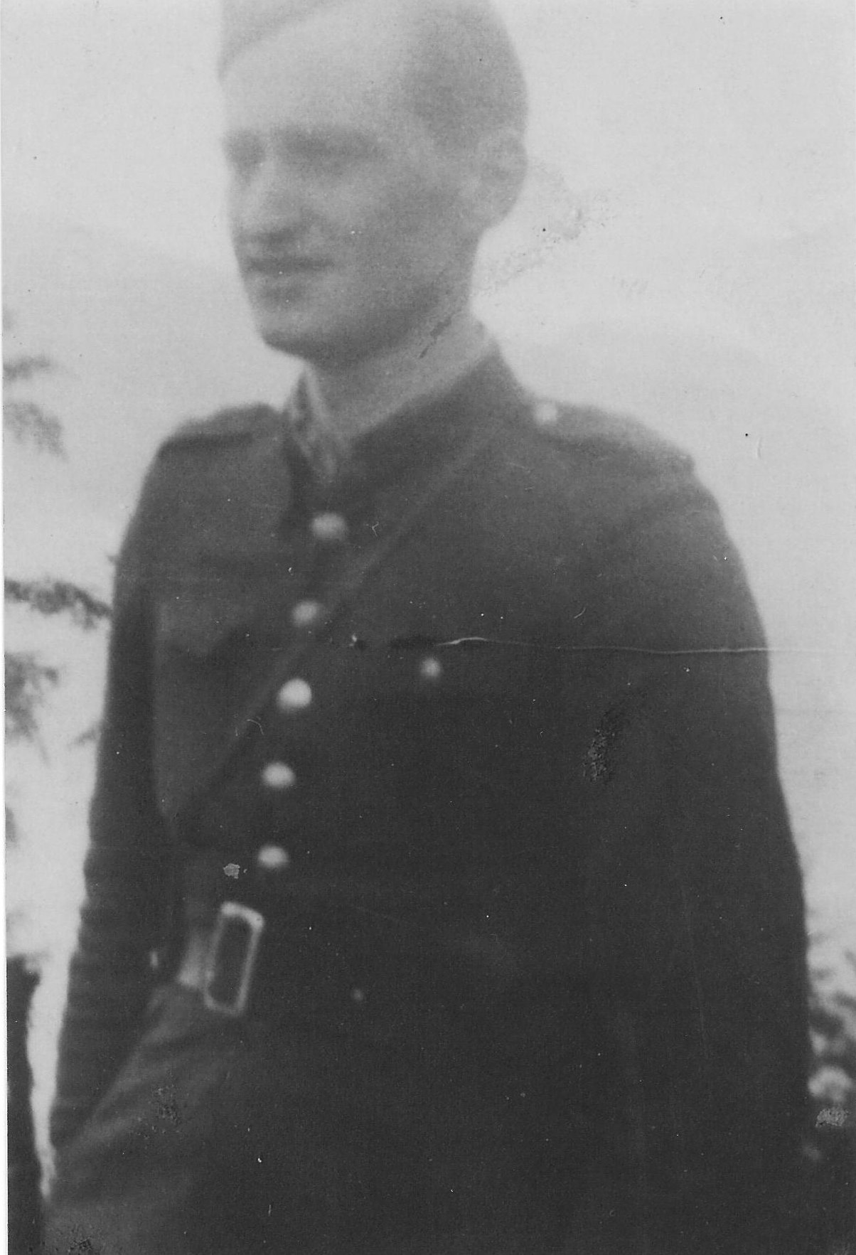 Photo:  Józef Węglarz  ps Mały in 1943 or 1944