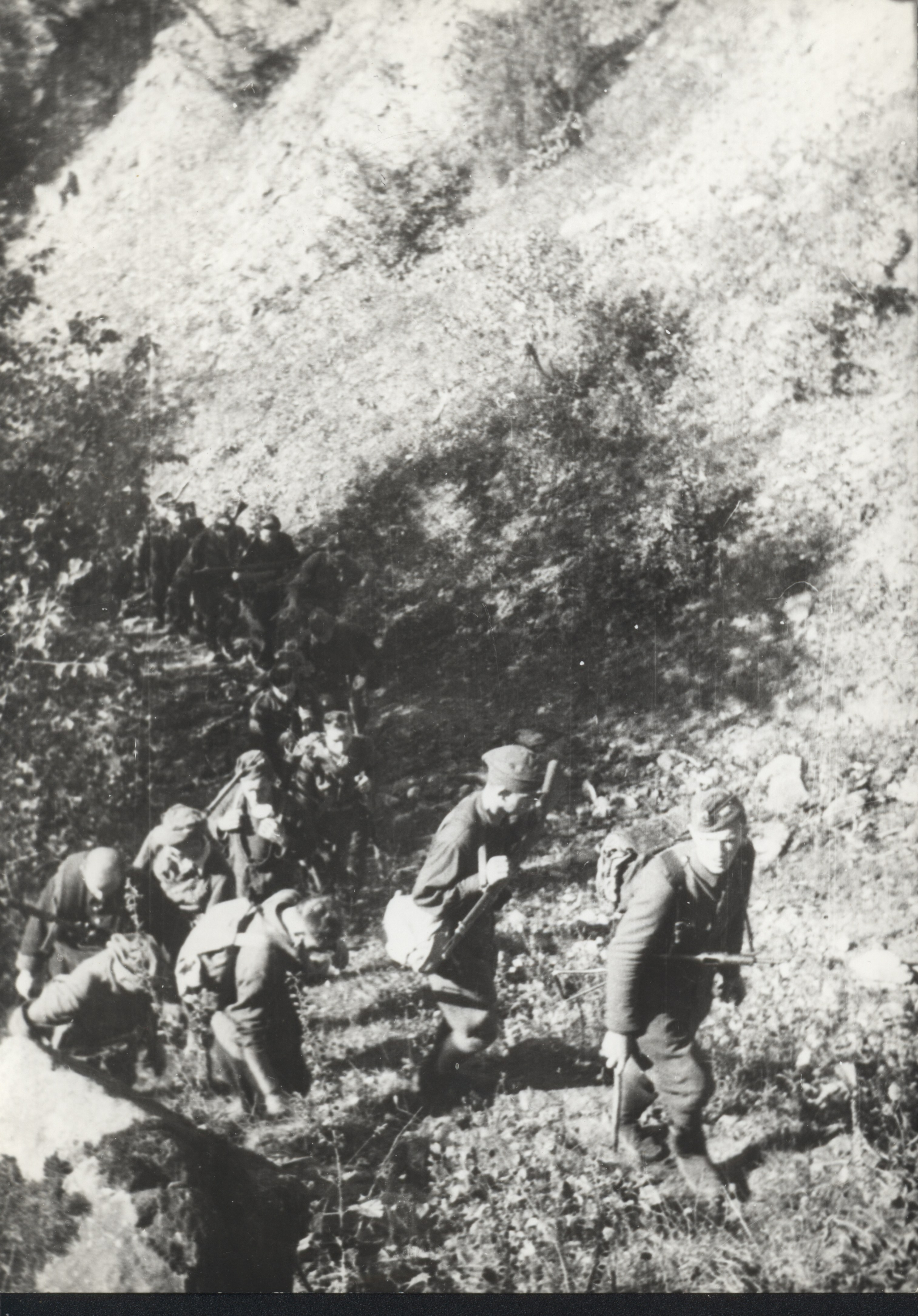 "Polish Home Army Group ""Wilk""on the way to Slovakia Summer 1944"