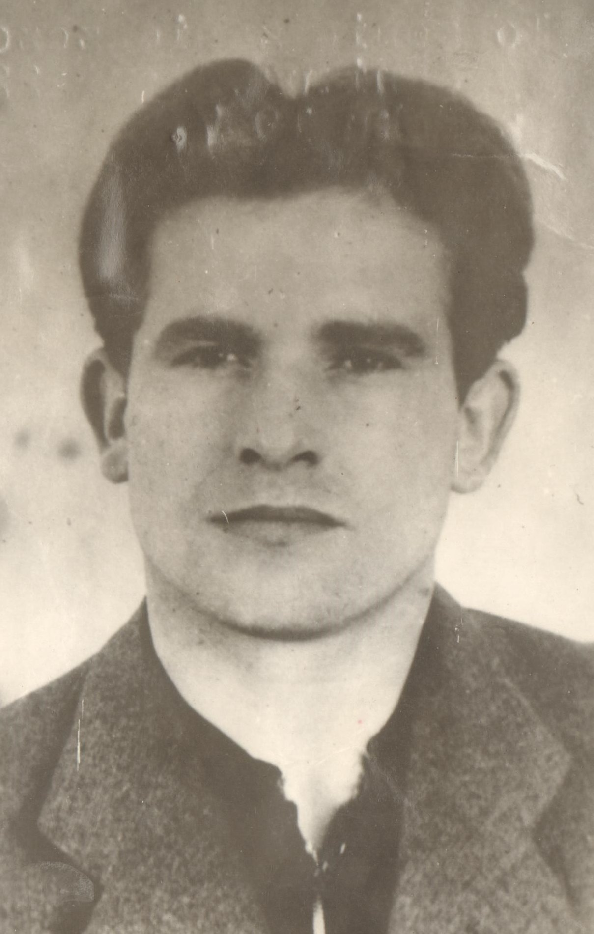 "Photo of Partisan Yugoslav Officer  S. Wróbel a.k.a. ""Szwejk"""