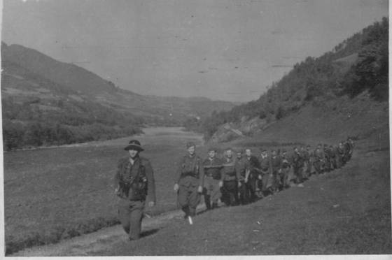 Photo Polish Home Army Wilk on the way to Slowakei (Slovakia) via Gorce Mountains