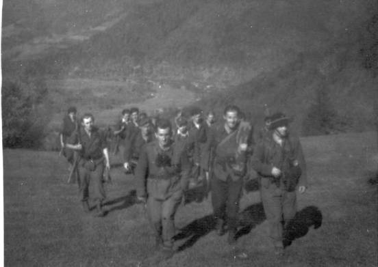Photo 2 Polish Home Army Wilk on the way to Slowakei (Slovakia) via Gorce Mountains
