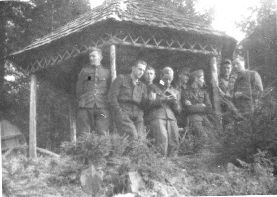 Photo Polish Home Army Meeting Place