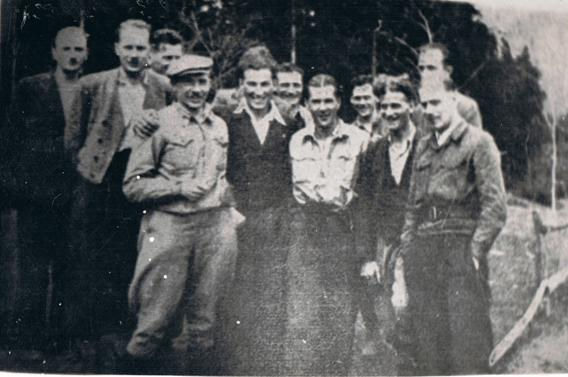 Photo Partisan Commander Meeting Autumn 1944
