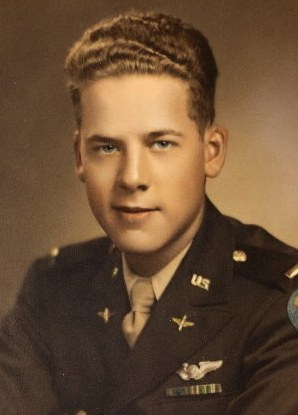 PHOTO of B17G Navigator 2nd Lt Richard L. Hansler