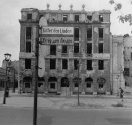 PHOTO: War damaged buildings in American Zone of Germany 2