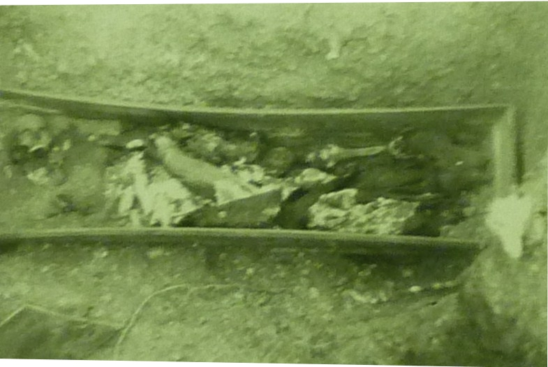 PHOTO: Contents of Grave