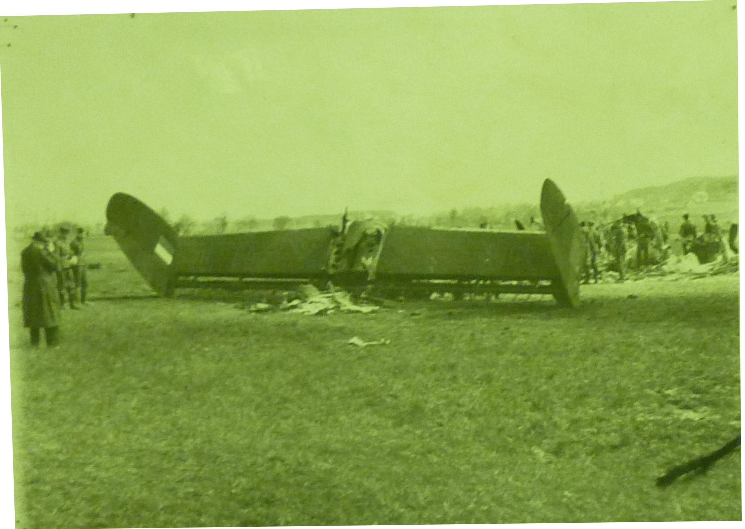 PHOTO: Downed Allied Aircraft investigated by Brooks' 15 Section MREU