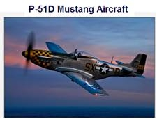 Image of Mustang aircraft