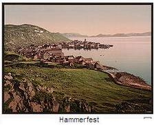 Image of Norwegian Town of Hammerfest